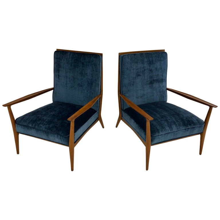 Pair of Paul McCobb Easy Chairs For Sale