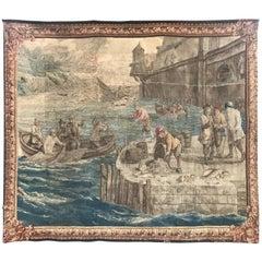 17th Century Brabant, Belge Tapestry