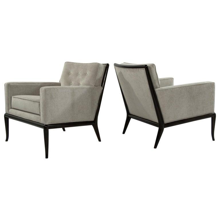 T.H. Robsjohn-Gibbings for Widdicomb Lounge Chairs, 1950s For Sale