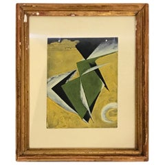 Russian Abstract Painting, 1930s