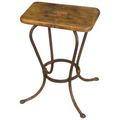 French 19th Century Work Stool