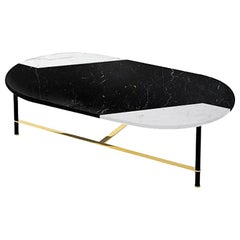 Cookies Coffee Table with Marble Top by Gallotti & Radice
