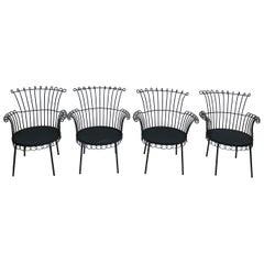 Mathieu Mategot Cap D'ail Style Set of Chair