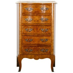 French Louis XV Chest Commode Nightstand