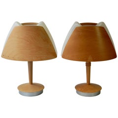 Plywood Table Lamps