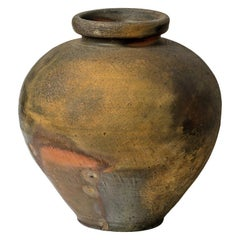Exceptional Massive Ceramic Vase by Steen Kepp Japanese Pottery Style La Borne