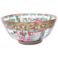 Chinese Qing Famille Rose Bowl