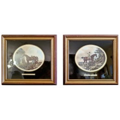 Pair of 19th Century Thomas Gooch Horse Aquatints