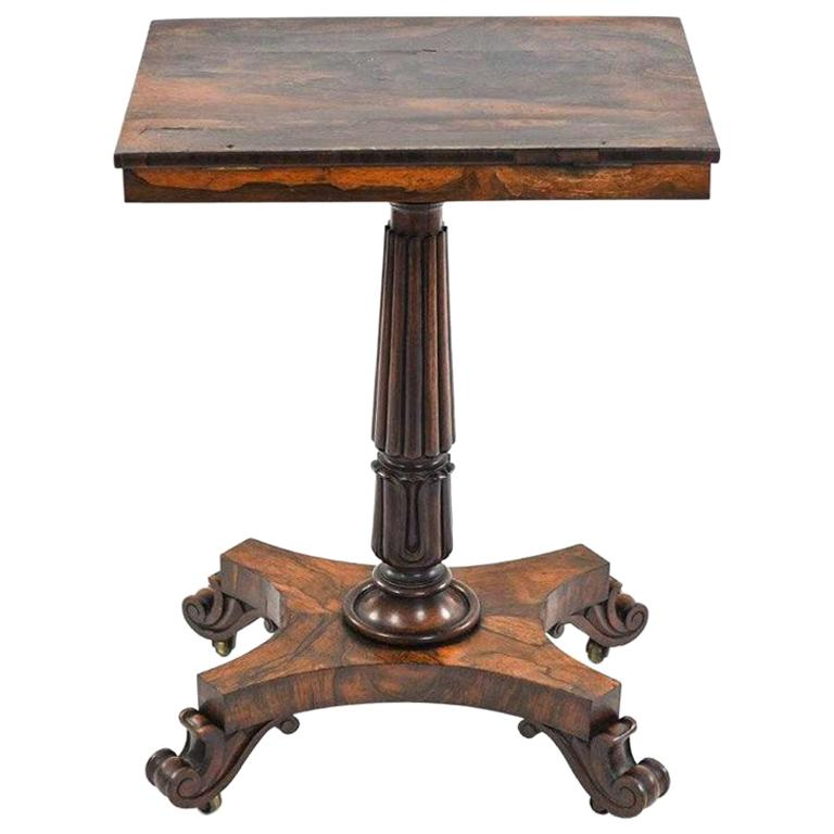 Early 19th Century Regency Rosewood Music Manuscript Stand