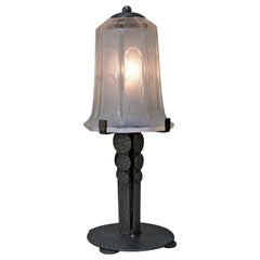 Hettier & Vincent Art Deco Table Lamp