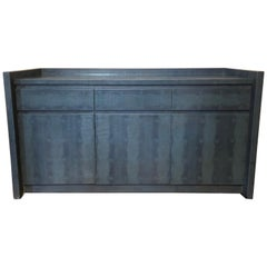 Embossed Leather Sideboard