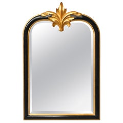 Dauphine Harrison & Gil Baroque Gold Guilt and Black Carved Mirror