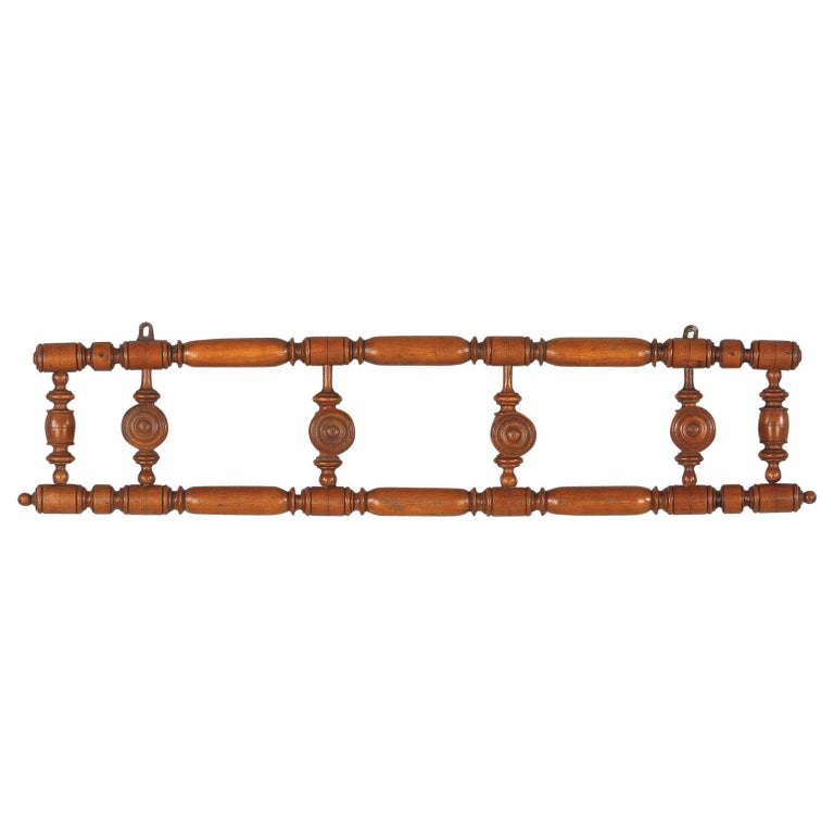 French Faux Bamboo Coat Hanger, 1920s For Sale