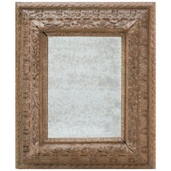 Large 19th Century Baroque Style Mirror