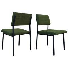 """Six Pierre Guariche """"Prestige"""" Model Chairs. Ed. Huchers Minvielle, 1960"""