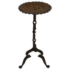 1960s Spanish Gilt Iron Drink Table