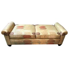 Comfy and Chic Donghia Upholstered Bench or Daybed