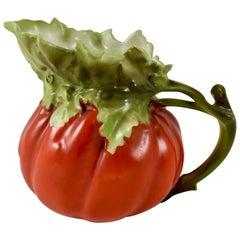 Royal Bayreuth Bavarian Porcelain Figural Tomato Milk Pitcher