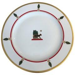 La Maison de Louis Cartier Limoges Charger/Chop Dinner Plates