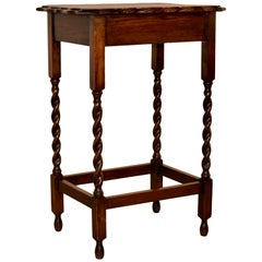 English Oak Occasional Table, circa 1900