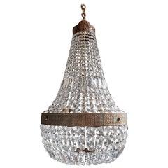 Montgolfièr Empire Sac a Pearl Chandelier Crystal Lustre Ceiling Lamp Art Nouvea