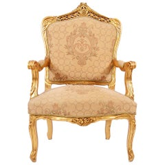 Rococo Style Late 19th Century Chair