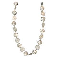Rare Old Jewish Silver Marriage Necklace Yemen