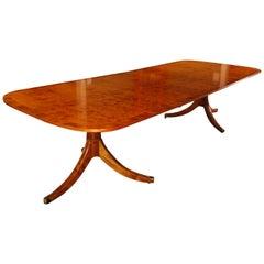 George III Style Pedestal Table in Yewood
