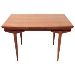 Extendable Teak Table, 1960s