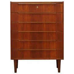 Danish Design Chest of Drawers Retro Teak Midcentury