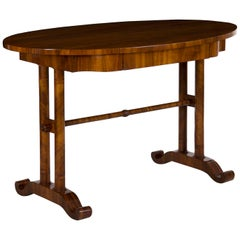 19th Century Austrian Biedermeier Antique Writing Table Desk, circa 1825-1845