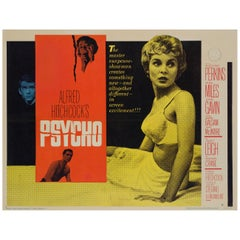 """Psycho"", US Film Poster, 1960"