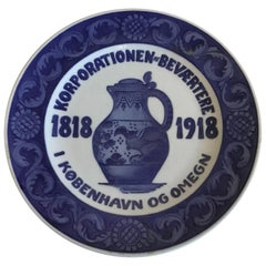 Royal Copenhagen Commemorative Plate from 1918 RC-CM180
