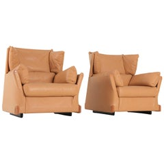 Cassina 'Viola d'amore' Armchairs by Piero Martini