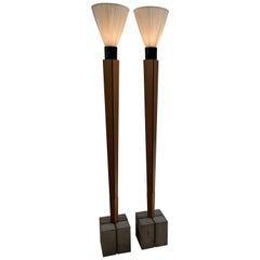 Art Deco Floor Lamps with a Twist