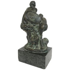 Bronze of Male and Female Warriors