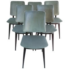 Six Midcentury Italian Dining Chairs