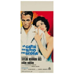Cat on a Hot Tin Roof Original Italian Film Poster, R1966