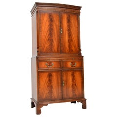 Antique Georgian Style Mahogany Drinks Cabinet