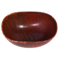 Midcentury Carl-Harry Stålhane Ceramic Bowl by Rörstrand
