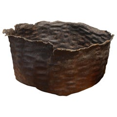 Andrianna Shamaris Buffalo Hide Large Bowl