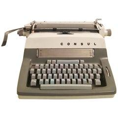 Original Vintage Typewriter Consul, Made in Czechoslovakia