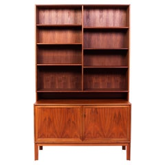 Teak Bookcase by Alf Svensson for Bjästa, 1950s