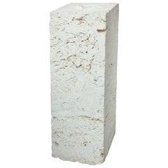Vintage Organic Coral Column Pedestal