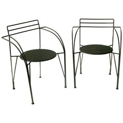 French Modern Patio Chairs by Pascal Mourgue