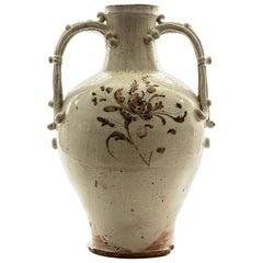 Large Antique Chinese Song Dynasty Glazed Vase