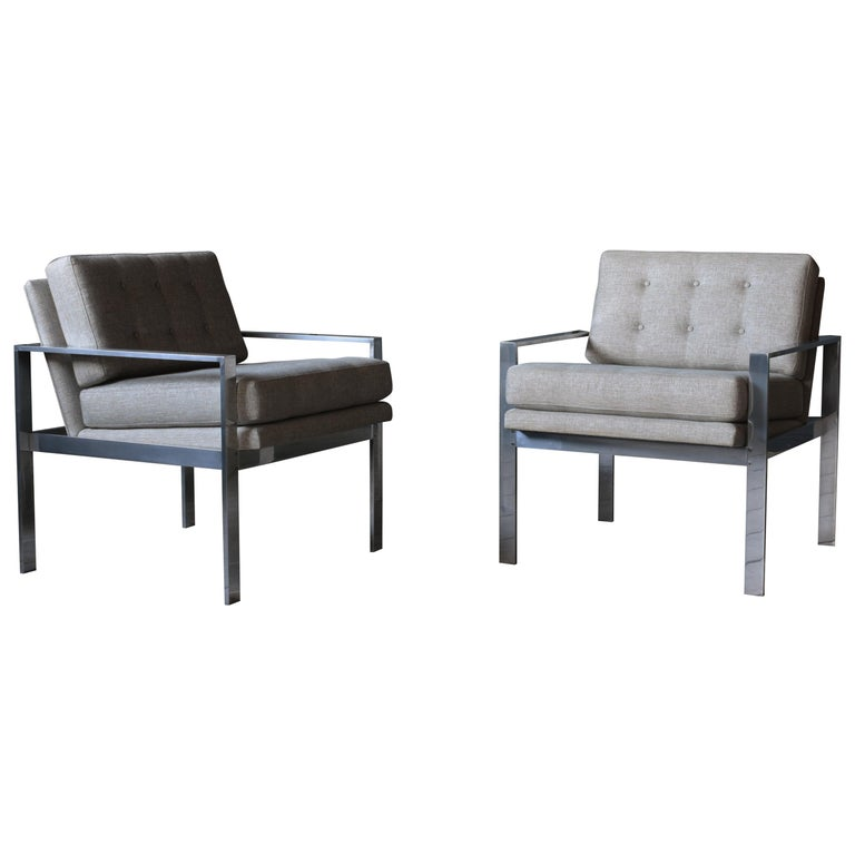 Pair of Harvey Probber Lounge Chairs For Sale