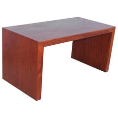Mid-Century Modern Custom Made Partners Walnut Desk