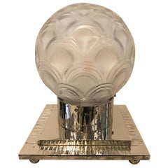 French Art Deco Table Lamp by Pierre D'avesn