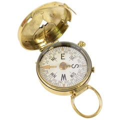 Brass Compass Made in Switzerland for the US Engineer Corps